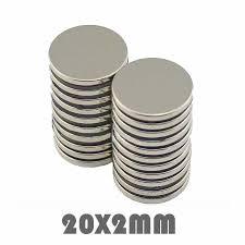 10/30/50pcs <b>15x2mm Neodymium</b> Magnet Permanent N35 NdFeB ...