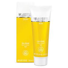 Janssen Sun Shield SPF30 <b>Солнцезащитная эмульсия для лица</b> и ...