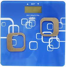 Весы <b>Sinbo SBS 4448</b> (<b>белый</b>, синий)