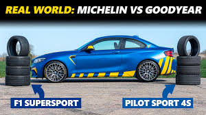 <b>Michelin Pilot Sport</b> 4S vs Goodyear Eagle F1 SuperSport - Long ...