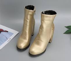 <b>Meotina</b> Women Autumn Shoes High Heels Female <b>Ankle Boots</b> ...