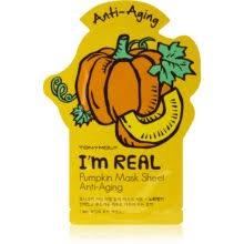 TONYMOLY I'm REAL Pumpkin <b>тканевая маска против морщин</b> ...