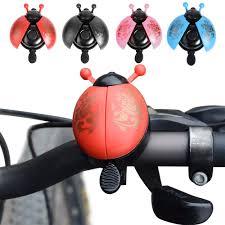 2019 <b>Aluminum</b> Alloy <b>Bicycle Bell</b> Ring Lovely Kid Beetle Mini ...