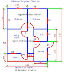 Bungalow Floor Plans Nigeria   Free Bungalow House Plans  Free    Free Bungalow Plans For Everyone