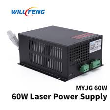 Will Feng MYJG <b>60w Co2 Laser Power</b> Supply For Co2 Cutter ...