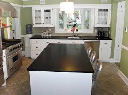 countertops popular options today:  contemporary kitchen black kitchen countertops kitchen countertops kitchen designs choose kitchen layouts amp remodeling materials