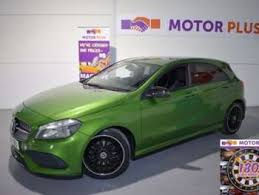 Used <b>Green Mercedes-Benz</b> A Class for Sale - RAC Cars
