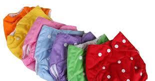 0-3 Years Old <b>Baby Reusable Nappies</b> 7 Colors <b>Adjustable</b> ...