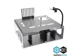 DimasTech® Bench/Test Table Easy <b>V3</b>.<b>0</b> Metallic Grey