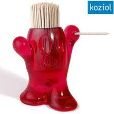 Подставка для зубочисток PIC'NIX красный, прозрачный, Koziol ...