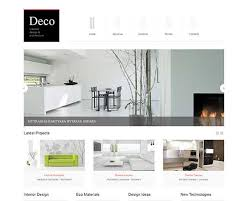 deco creative design and architecture responsive joomla template best furniture design websites