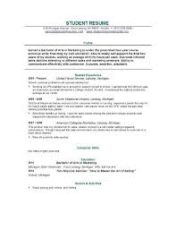 resume examples college student good resume example for college recent graduate resume samples