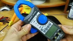 Подробный обзор и тест <b>токовых клещей HoldPeak HP 870N</b> с ...