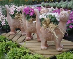 Самодельные фигурки для сада из цементного раствора — 6 ...