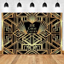 <b>NeoBack</b> The Great <b>Gatsby</b> Backdrops <b>Gatsby Happy Birthday</b> Party ...