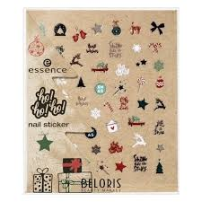 <b>Наклейки для ногтей Nail</b> Stickers №01 Dear Santa <b>ho</b>!<b>ho</b>!<b>ho</b> ...