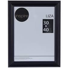 <b>Рамка</b> Inspire Liza <b>30х40 см</b> цвет чёрный в Москве – купить по ...