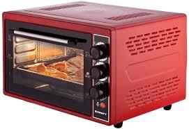 <b>Мини</b>-<b>печь Kraft KF-MO 3804</b> KR (красный)