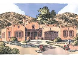 Adobe House Plans at Dream Home Source   Adobe Style House PlansTemp