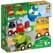 Купить <b>конструктор LEGO DUPLO Мои</b> первые машинки 10886 в ...