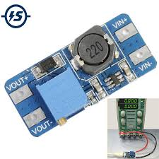 <b>3Pcs</b> dc-dc 5v/<b>9v</b>/<b>12v</b>/28v boost converter adjustable step up power ...