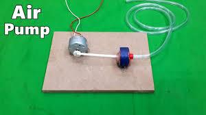 How to Make a <b>Mini Electric Air</b> Pump for Home Aquarium - DIY ...