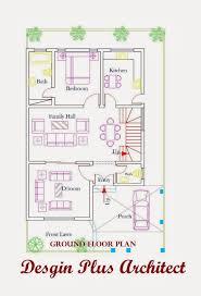 Home Plans In Pakistan  Home Decor  Architect Designer   d Home Plan d home plans  Ground Floor Plan