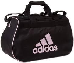 adidas small diablo duffle black / pink gym bag: Clothing - Amazon.com