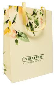 <b>Пакет подарочный Чайная</b> Роза - Интернет-магазин Унция