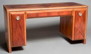 above art deco desk after treatment art deco office furniture