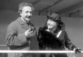 who was albert einstein universe today albert einstein his wife elsa in 1923 credit public