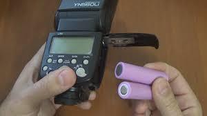 Лучшая не TTL вспышка <b>Yongnuo YN560LI на</b> LiIon аккумуляторах