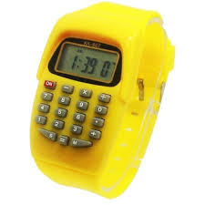 Fashion Student Calculator <b>Watch</b> for Exam Children Electronic ...