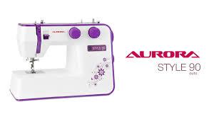 <b>Швейная машина Aurora Style</b> 90 (краткий обзор) - YouTube