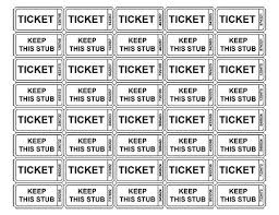 Printable raffle tickets, Raffle tickets and Ticket template on ... Printable raffle tickets, Raffle tickets and Ticket template on Pinterest