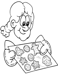 Small Picture Christmas Cookies Coloring Page Fresh Baked Cookies
