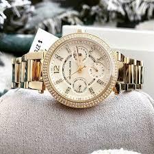 Наручные <b>часы Michael Kors</b> Parker Mini <b>MK6056</b> Damenuhr 33 ...