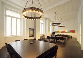 pendant lighting for dining table cool square black dining table set under round pendant lamps hanging beautiful funky dining room lights