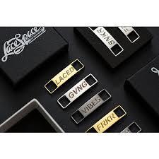 Custom Engraved <b>Lace Locks</b>