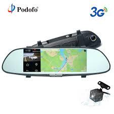 "Podofo <b>3G Car DVR</b> 7"" Android 5.0 GPS Registrar Navigation Video ..."