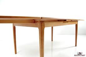 modern dining table teak classics: hq danish dining table in teak by dyrlund