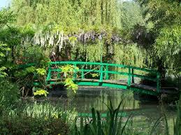 Claude Monet's <b>garden</b> at <b>Giverny</b>
