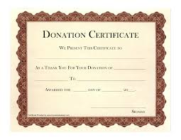 new templates donation certificate template new templates donation certificate template