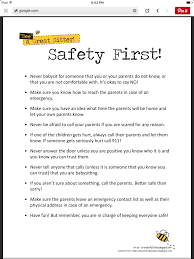 babysitting safety first babysitting tips and ideas babysitting safety first
