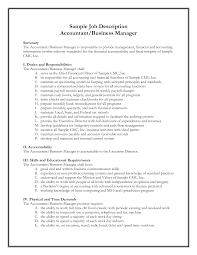 cover letter staff accountant job description staff accountant job cover letter best photos of example job description template sample accountingstaff accountant job description extra medium