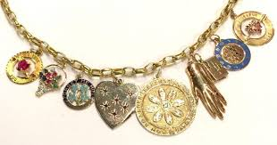 How To Build A <b>Charm Necklace</b> With <b>Vintage</b> Charm Guru Alice ...