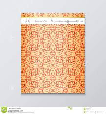 magazine cover geometric patterns cover page template magazine cover geometric patterns cover page template royalty stock images
