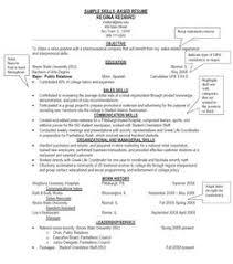 job skills resume resume template free photo skills qualifications    photo skills qualifications