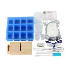 <b>New Soap Making Kit</b> 3 Kind Silicone Mold 500g Soap Base and ...