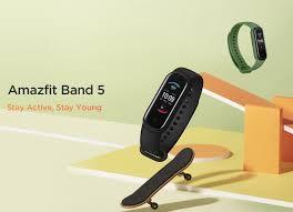 2020 <b>New Global</b> Version <b>Amazfit</b> Band 5 Smart Wristband 5ATM ...